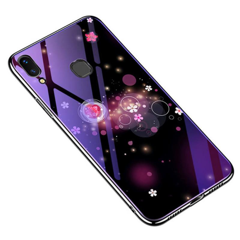 TPU+Glass чехол Fantasy с глянцевыми торцами для Huawei Honor 8C