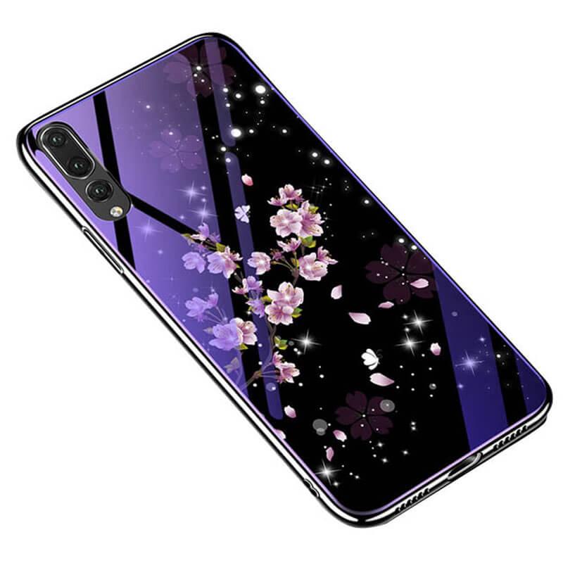 TPU+Glass чехол Fantasy с глянцевыми торцами для Huawei P20 Pro