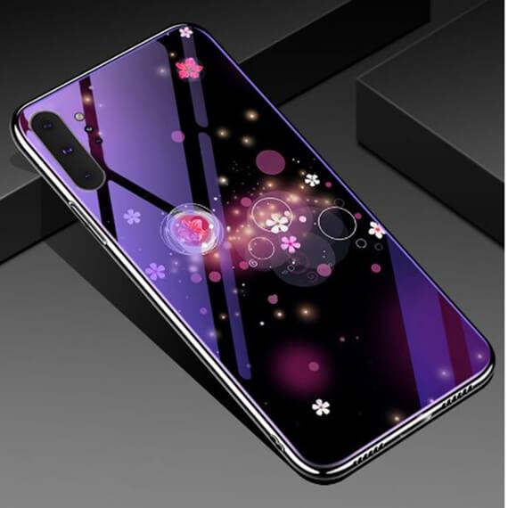TPU+Glass чехол Fantasy с глянцевыми торцами для Samsung Galaxy Note 10 Plus