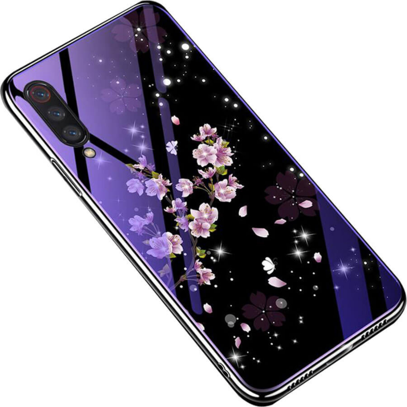 TPU+Glass чехол Fantasy с глянцевыми торцами для Xiaomi Mi 9 Pro