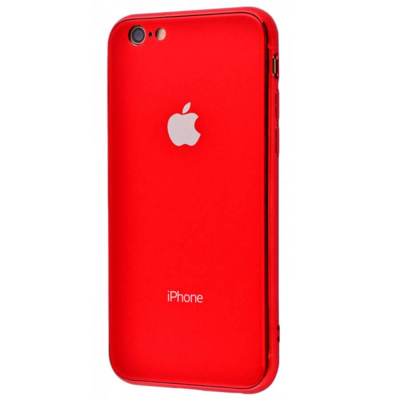 "TPU+Glass чехол Glamor для Apple iPhone 6/6s (4.7"")"