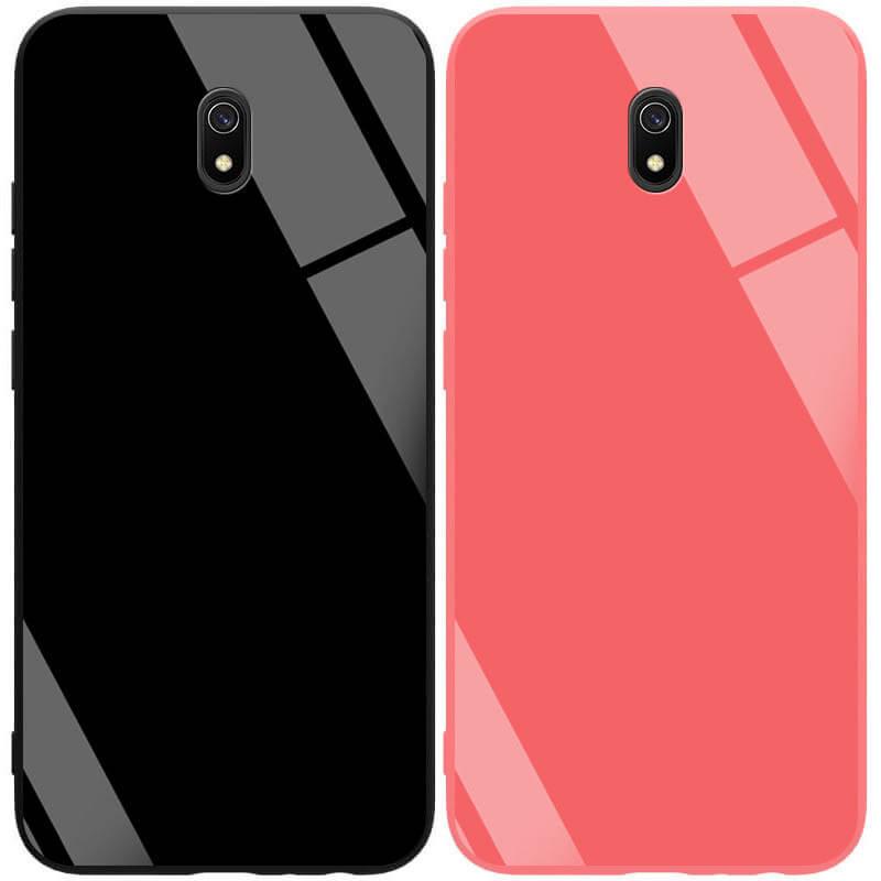 TPU+Glass чехол GLOSSY для Xiaomi Redmi 8a