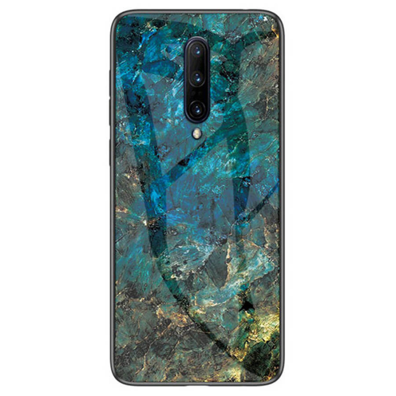 TPU+Glass чехол Luxury Marble для OnePlus 7 Pro