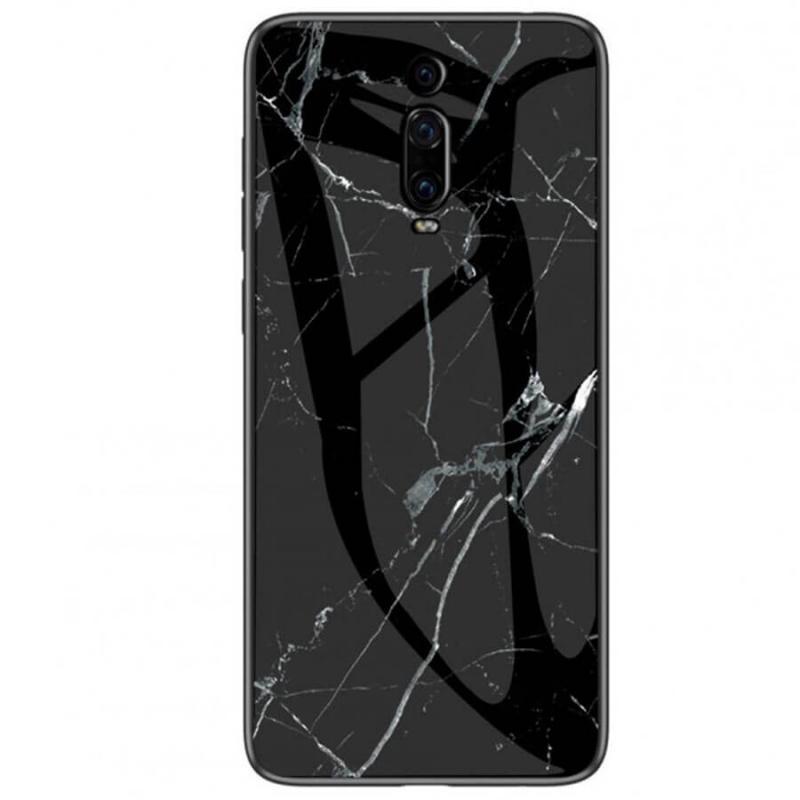 TPU+Glass чехол Luxury Marble для Xiaomi Mi 9 Pro