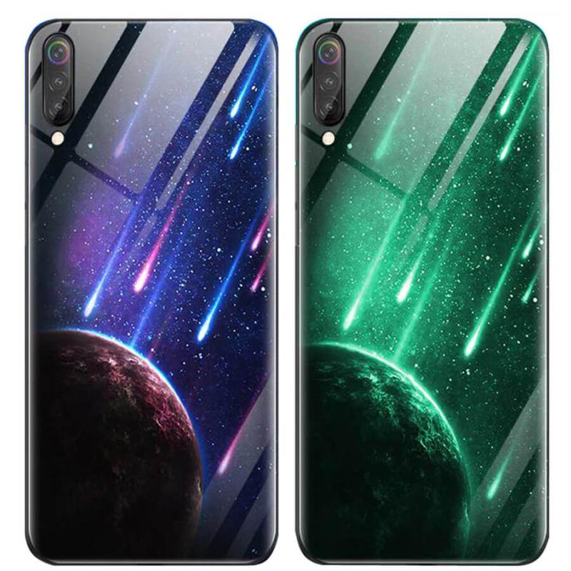 TPU+Glass чехол светящийся в темноте для Huawei nova 5T