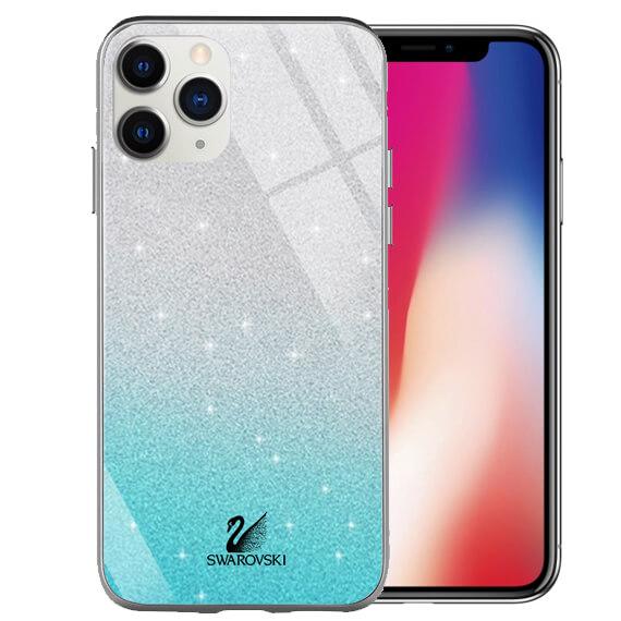 "TPU+Glass чехол Swarovski для Apple iPhone 11 Pro (5.8"")"