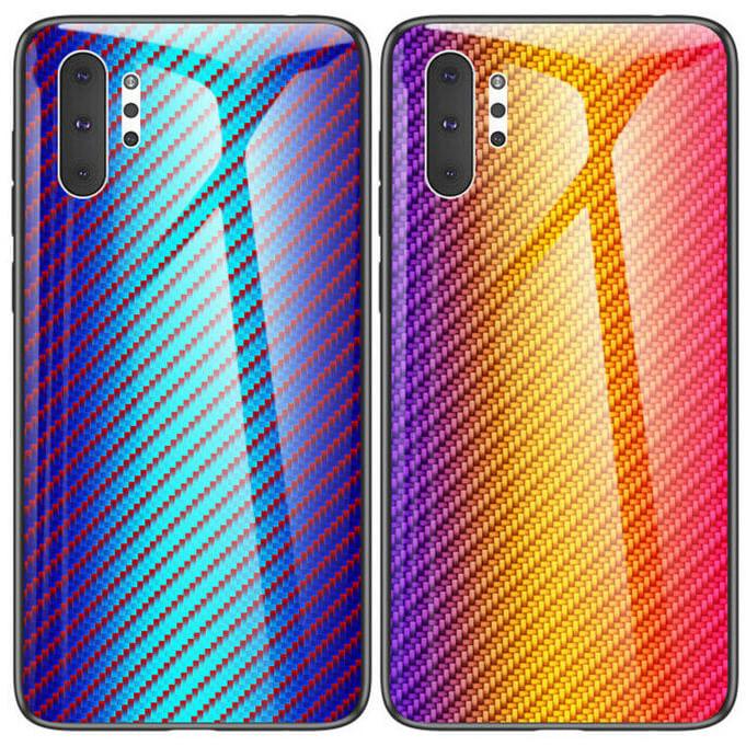 TPU+Glass чехол Twist для Samsung Galaxy Note 10 Plus