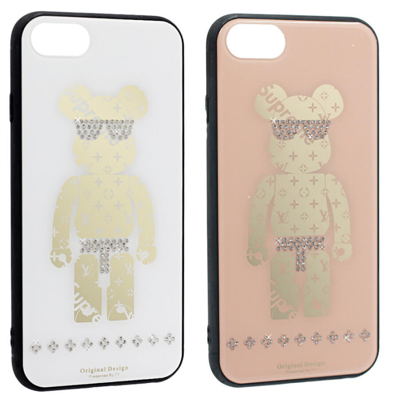 "TPU+Glass чехол TYBOMB Bear для Apple iPhone 7 (4.7"")"