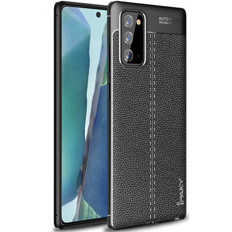 TPU чехол iPaky Litchi Series для Samsung Galaxy Note 20