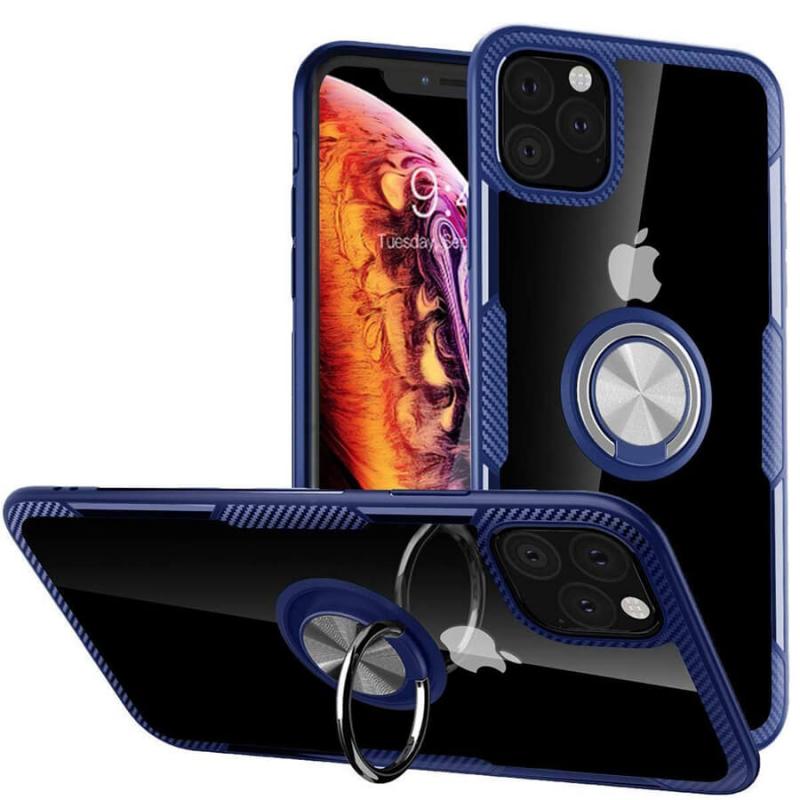 """TPU+PC чехол Deen CrystalRing под магнитный держатель для Apple iPhone 11 Pro (5.8"""")"""