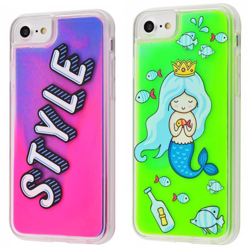 "TPU+PC чехол Lovely Stream Neon sand для Apple iPhone 6 / 6s / 8 (4.7"")"