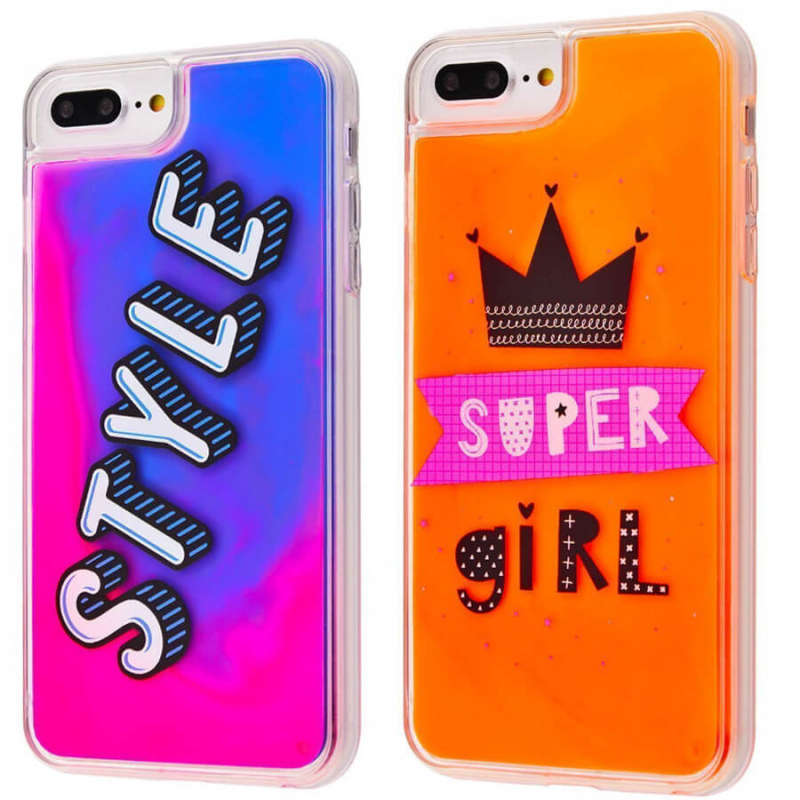 "TPU+PC чехол Lovely Stream Neon sand для Apple iPhone 6 plus / 6s plus / 7 plus (5.5"")"