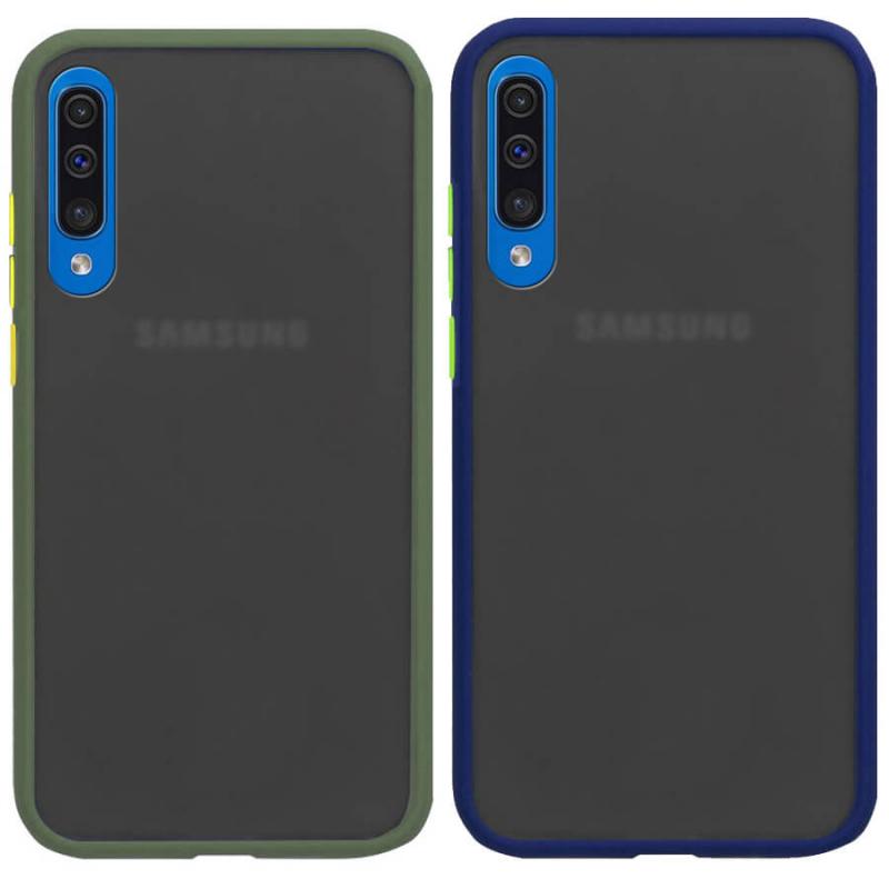 TPU+PC чехол Color Buttons Shield для Samsung Galaxy A50 (A505F) / A50s / A30s