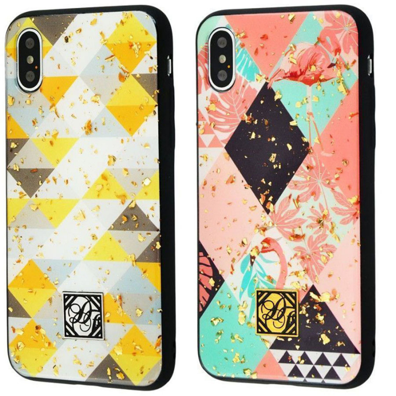 "TPU+PC ""Confetti Print"" для Apple iPhone X / XS (5.8"")"