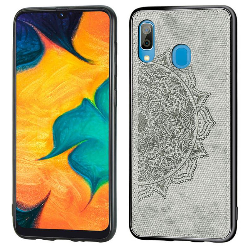 TPU+Textile чехол Mandala с 3D тиснением для Samsung Galaxy A10s
