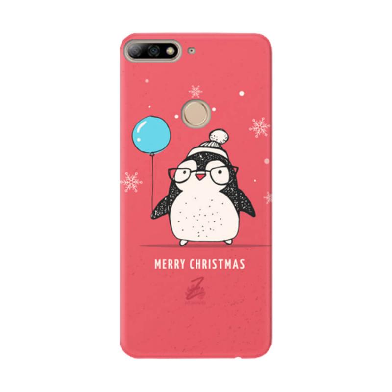 Чехол Christmas Penguin для Huawei Y7 Prime (2018)