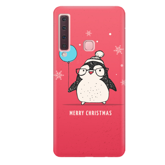 Чехол Christmas Penguin для Samsung Galaxy A9 (2018)