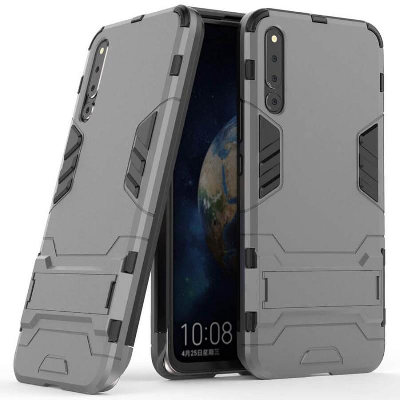 Ударопрочный чехол-подставка Transformer для Huawei Honor Magic 2 с мощной защитой корпуса