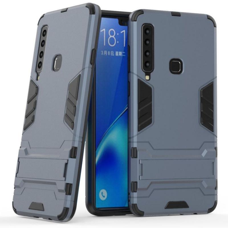 Ударопрочный чехол-подставка Transformer для Samsung Galaxy A9 (2018) с мощной защитой корпуса