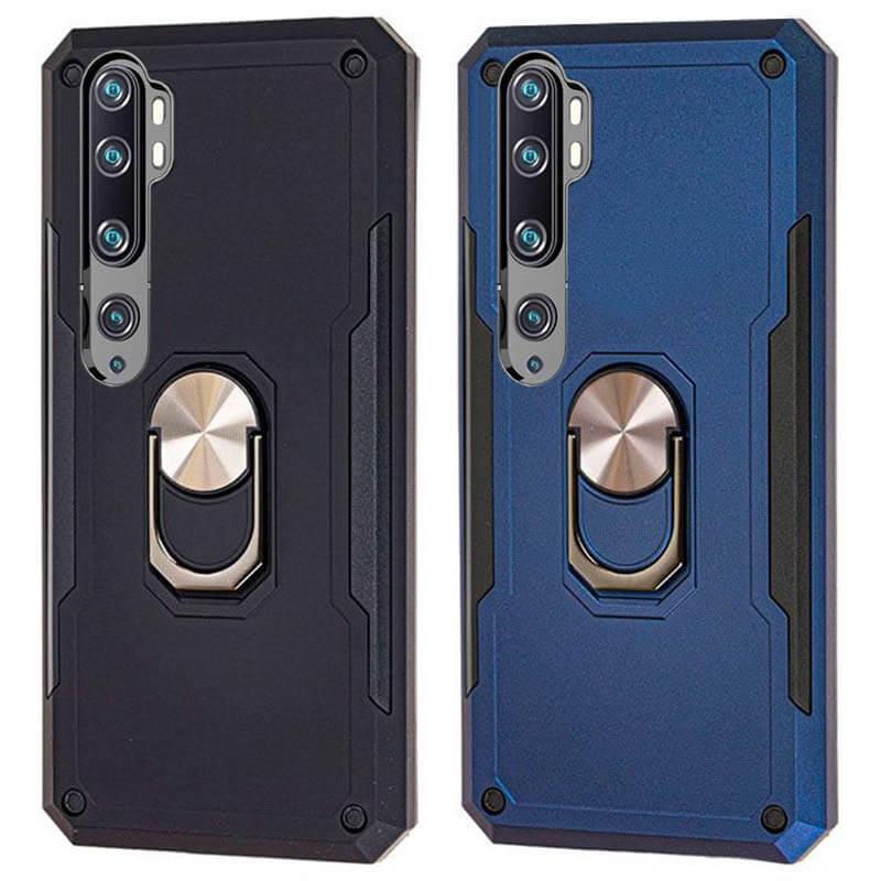 Ударопрочный чехол SG Ring Color магнитный держатель для Mi Note 10 / Note 10 Pro / Mi CC9 Pro