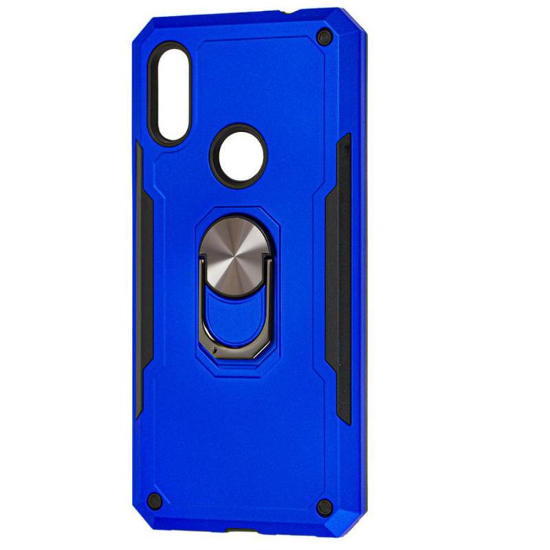 Ударопрочный чехол SG Ring Color магнитный держатель для Huawei P Smart Z