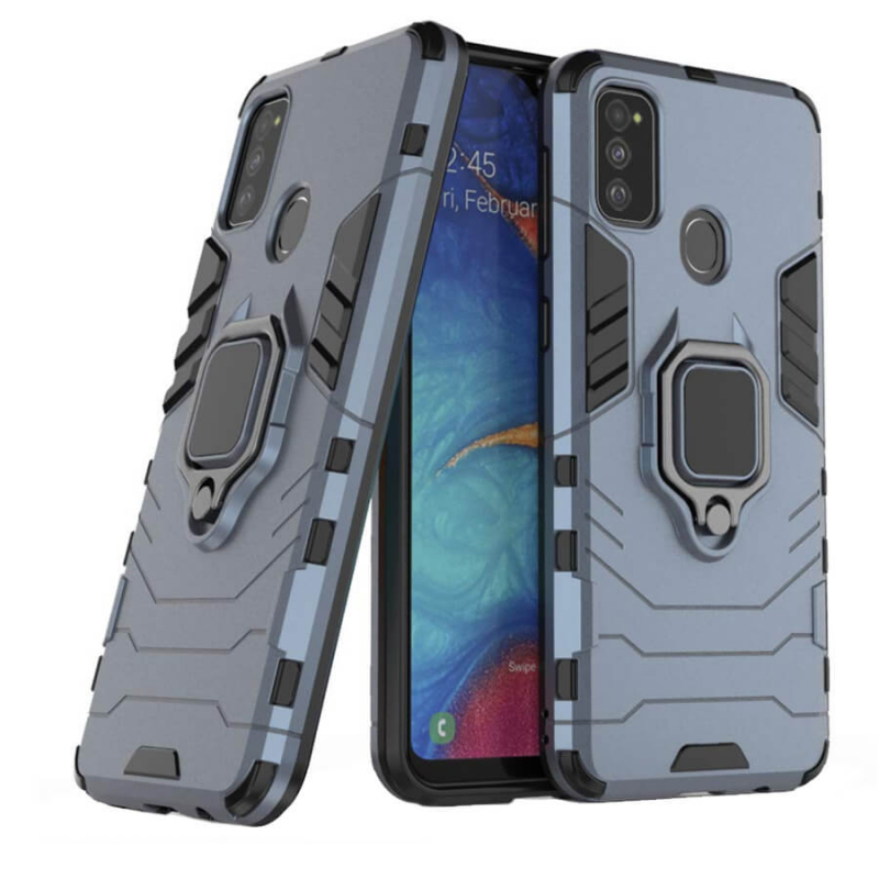 Ударопрочный чехол Transformer Ring for Magnet для Samsung Galaxy M30s / M21