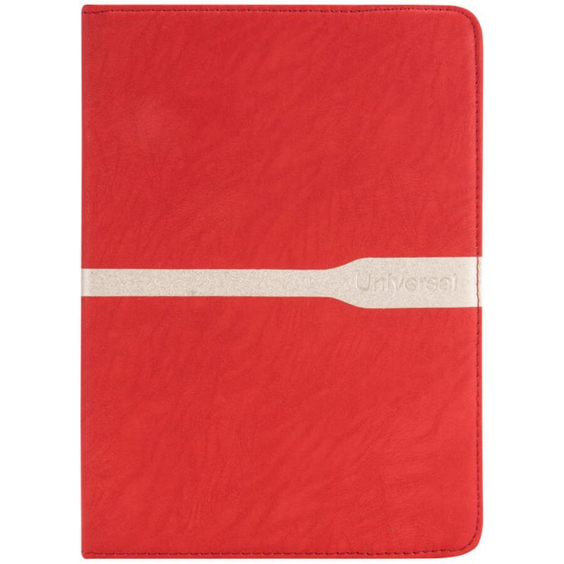 """Универсальный чехол книжка для планшета 9-10"""" с полосой"""