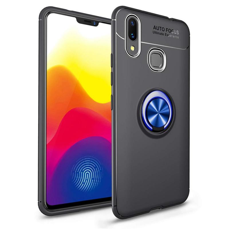 TPU чехол Deen ColorRing под магнитный держатель для Huawei P Smart+ (nova 3i)