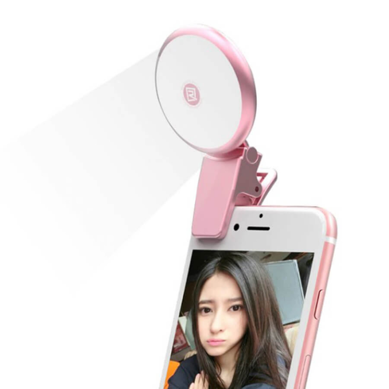 Вспышка Remax twilight selfie spot