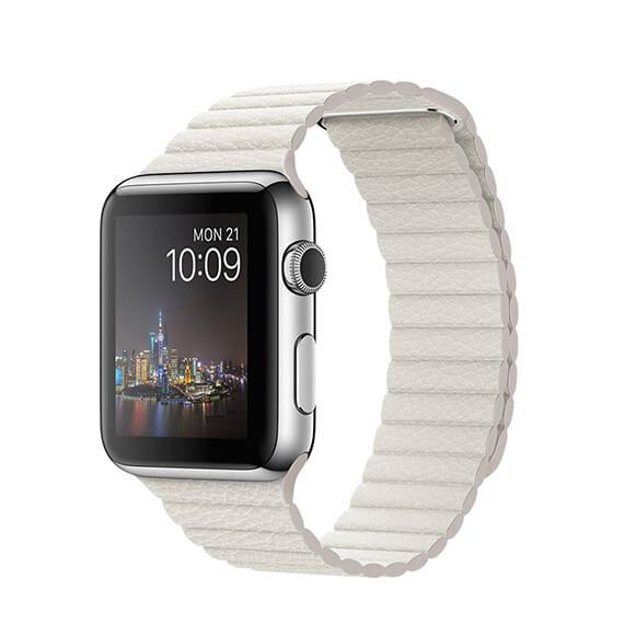 Ремешок Leather Loop Design для Apple watch 42mm / 44mm
