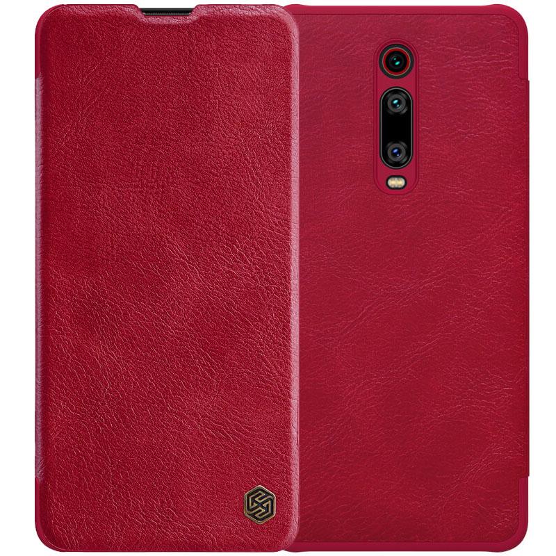 Кожаный чехол (книжка) Nillkin Qin Series для Xiaomi Redmi K20 / K20 Pro / Mi9T / Mi9T Pro