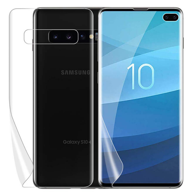 Защитная нано-пленка ITOP (на обе стороны) для Samsung Galaxy S10+