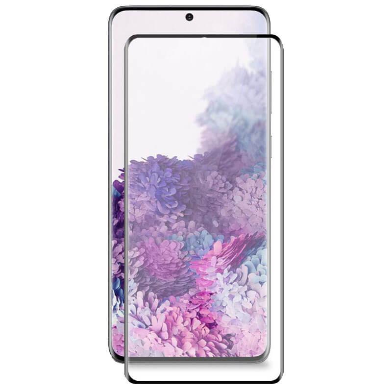 Защитное 3D стекло Artoriz (full glue) для Samsung Galaxy S20+