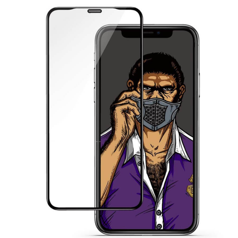 Защитное 3D стекло Blueo Stealth Series для Apple iPhone XR / 11