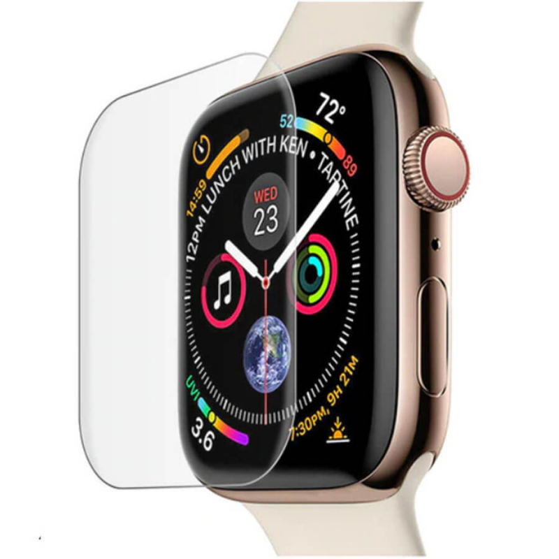 Защитное 3D стекло Mocolo с УФ лампой для Apple watch (40mm)