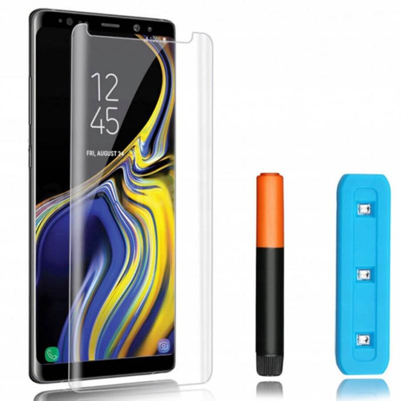 Защитное 3D стекло Mocolo с УФ лампой для Samsung Galaxy Note 8