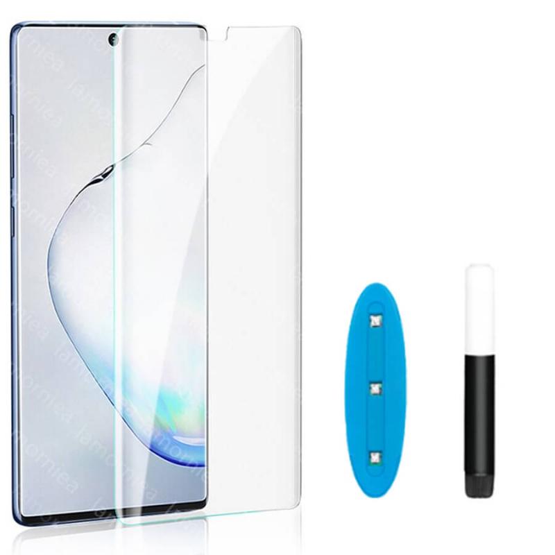Защитное 3D стекло Mocolo с УФ лампой для Samsung Galaxy S20