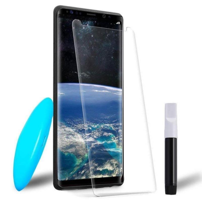 Защитное 3D стекло UV для Samsung Galaxy Note 9
