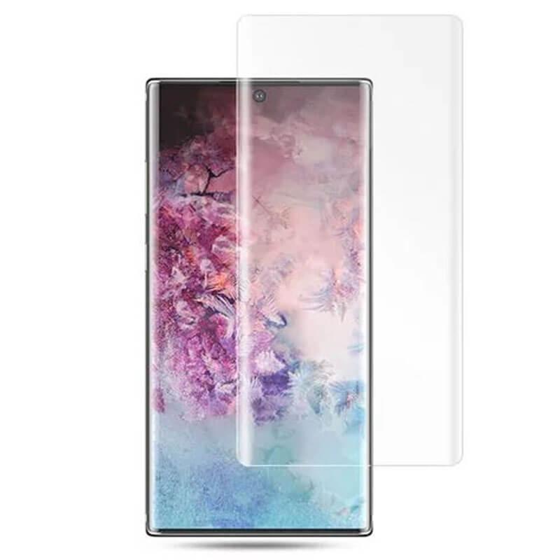 Защитное 3D стекло UV для Samsung Galaxy S20+