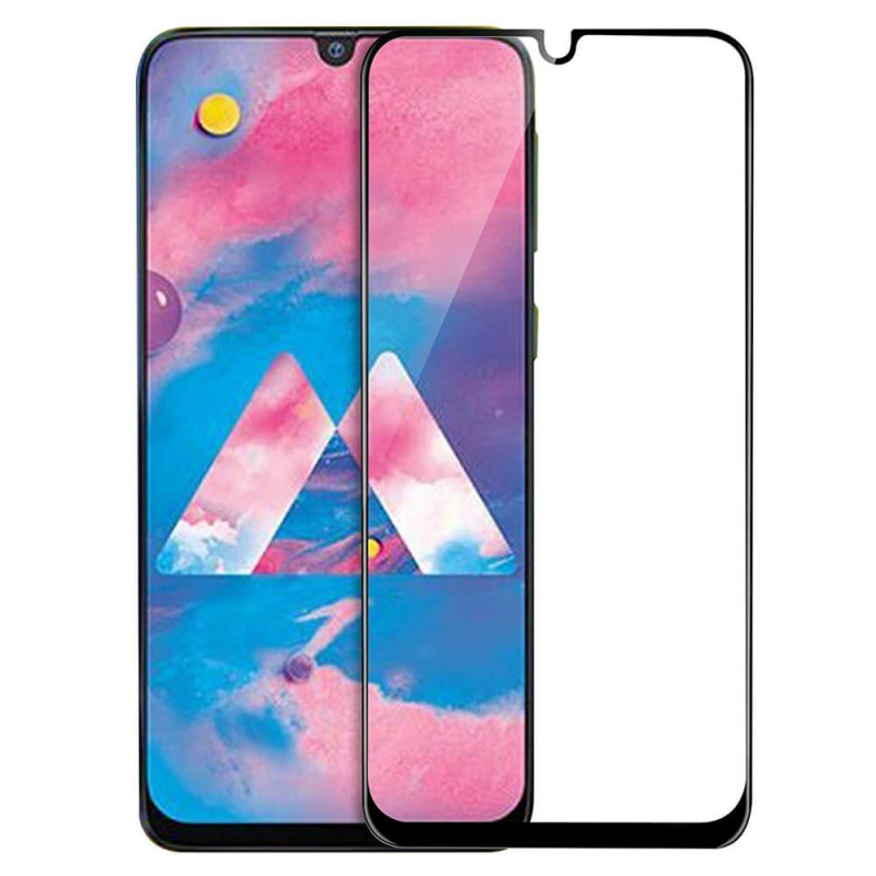 Защитное стекло 10D (full glue) (без упаковки) для Samsung Galaxy M30 / M30s