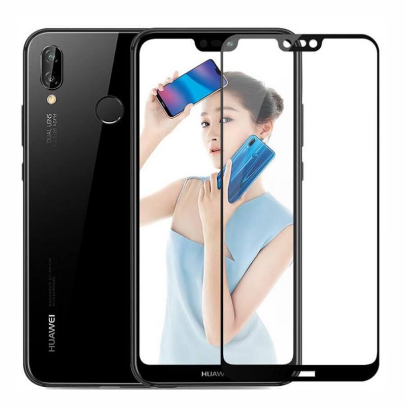 Защитное стекло 2.5D CP+ (full glue) для Huawei P20 Lite