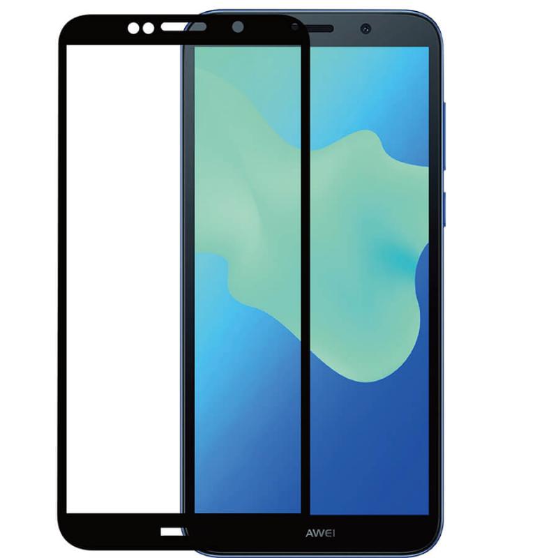 Защитное стекло 2.5D CP+ (full glue) для Huawei Y5 (2018) / Y5 Prime (2018)