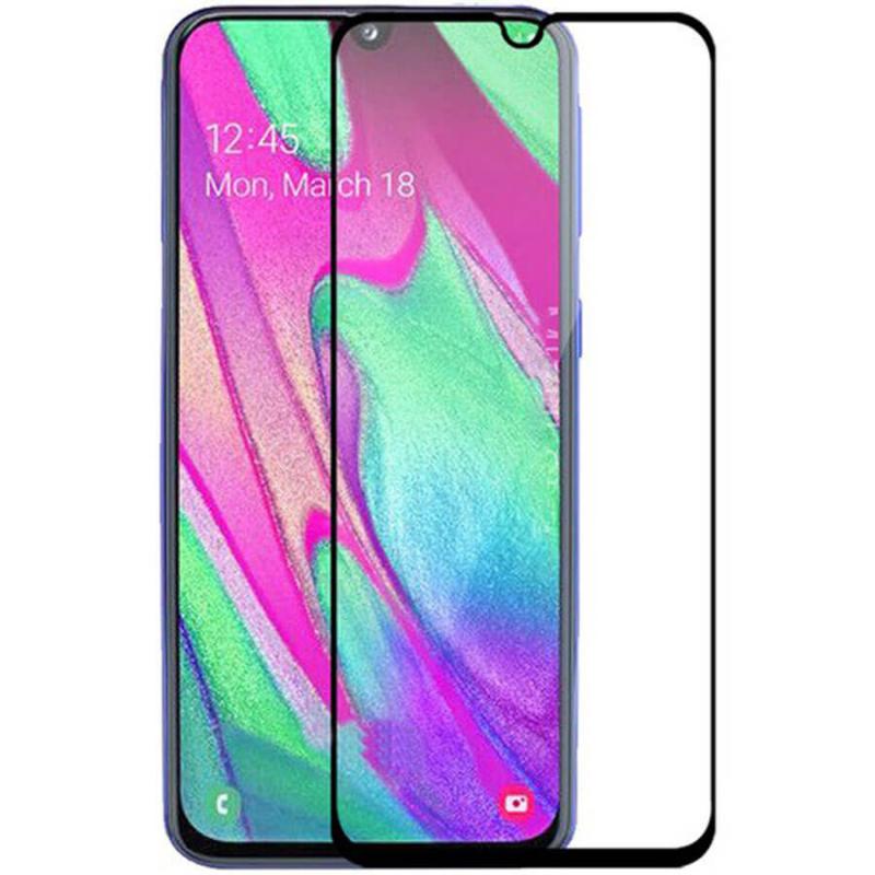 Защитное стекло 2.5D CP+ (full glue) для Samsung Galaxy A40 (A405F)