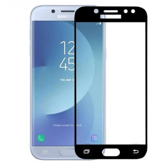 Защитное стекло 2.5D CP+ (full glue) для Samsung J730 Galaxy J7 (2017)
