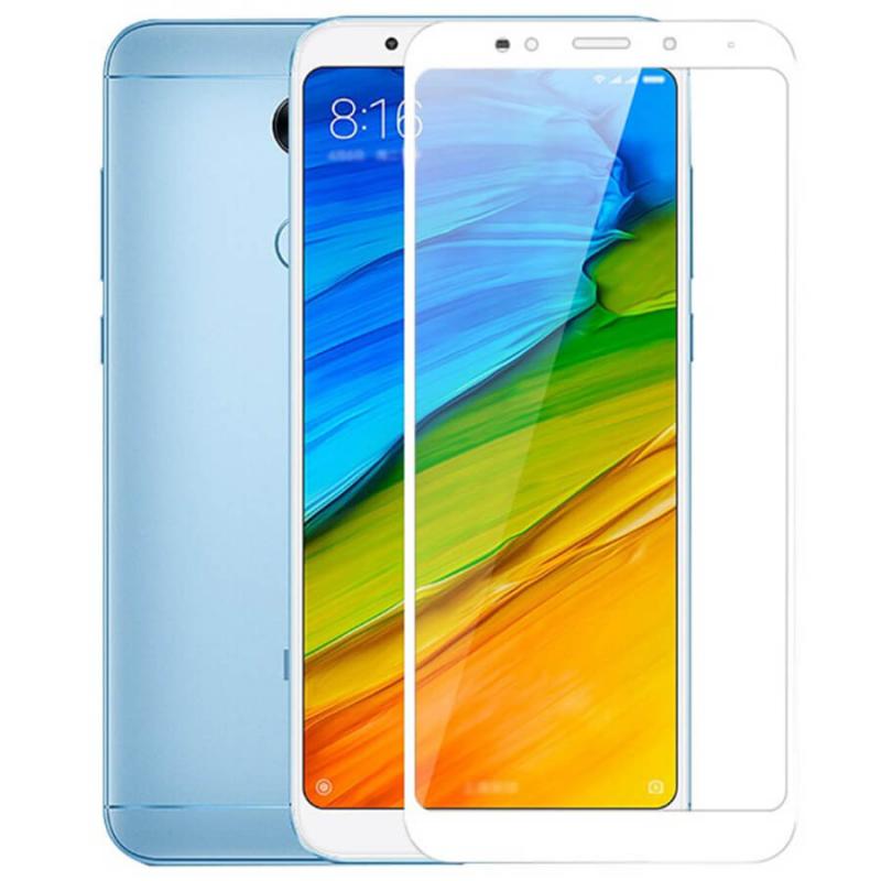 Защитное стекло 2.5D CP+ (full glue) для Xiaomi Redmi 5 Plus / Redmi Note 5 (SC)