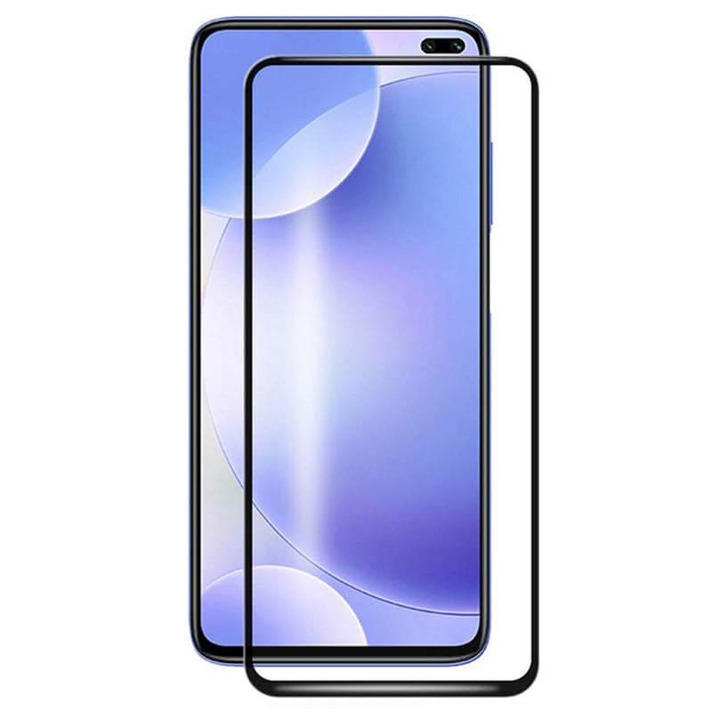 Защитное стекло 2.5D CP+ (full glue) для Xiaomi Redmi K30 / Poco X3 NFC / Poco X3/Mi 10T/Mi 10T Pro