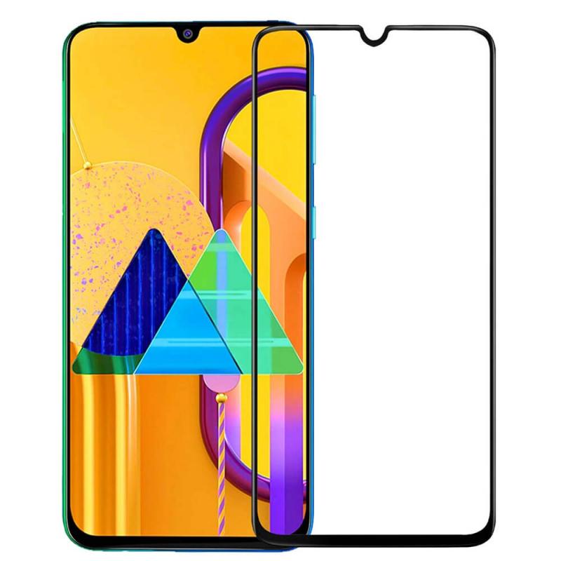 Защитное стекло 3D 19D (full glue) (без упаковки) для Samsung Galaxy M30 / M30s