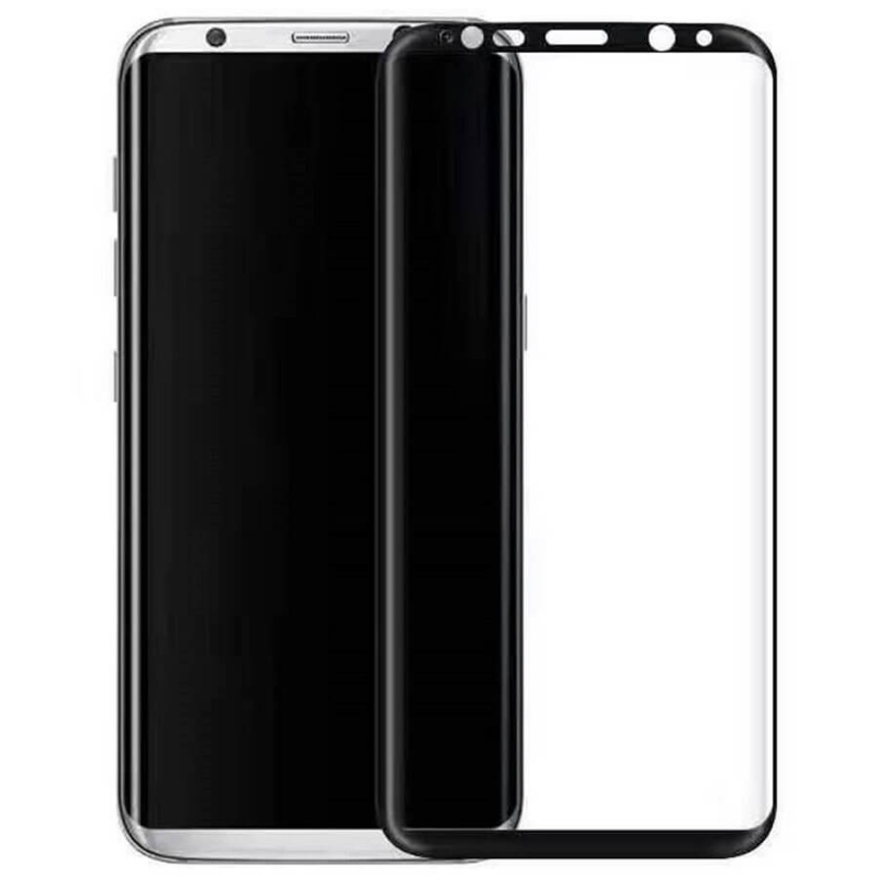 Защитное стекло 3D Edge (full glue) (без упаковки) для Samsung Galaxy Note 9