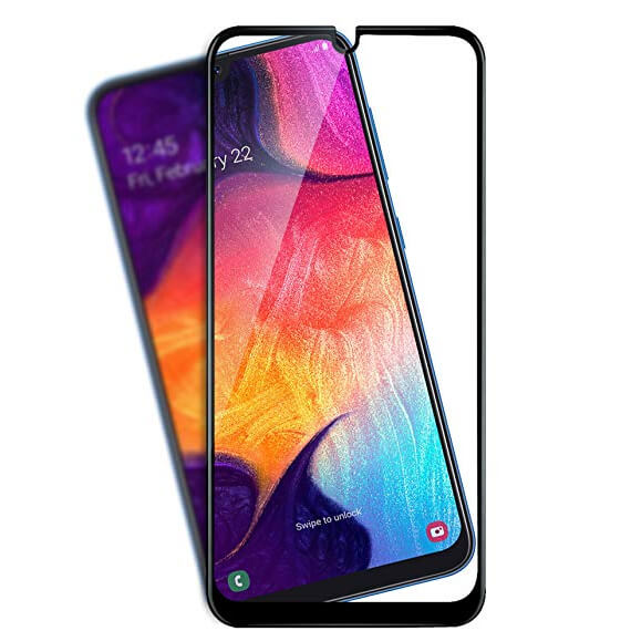 Защитное стекло 3D Premium 111D (full glue) для Samsung Galaxy A20 / A30 / A50 / A50s