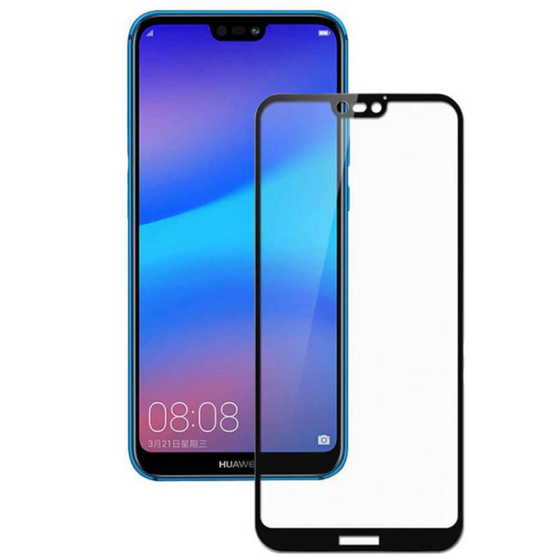 Защитное стекло 5D Full Cover для Huawei P20 Pro